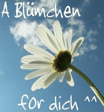 A Blümchen for dich^^
