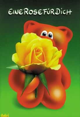 Eine Rose für Dich.