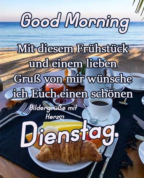 Good Morning. Mit diesem...