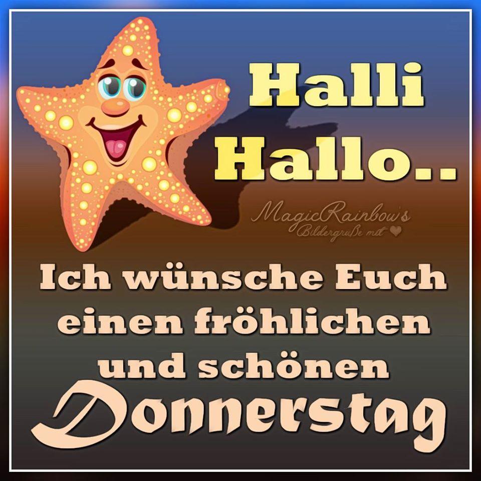 Halli Hallo... Ich wünsche Euch einen...