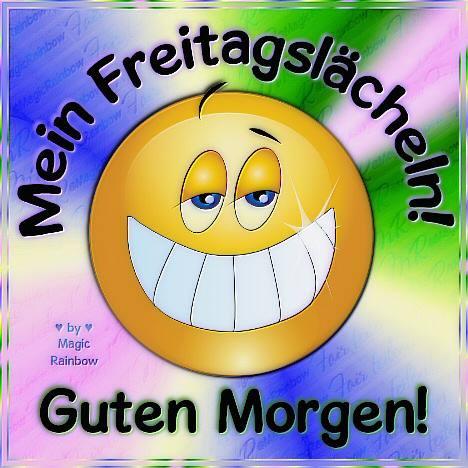 Mein Freitagslächeln!...