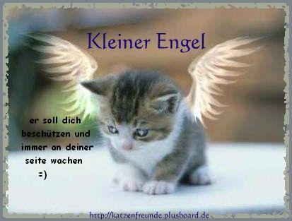 Kleiner Engel - er soll dich beschützen und immer an deiner Seite wachen =)