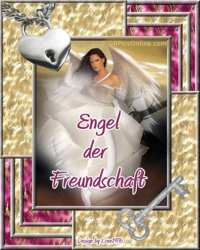 Engel der Freundschaft.