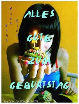 Alles Gute zum Geburtstag.