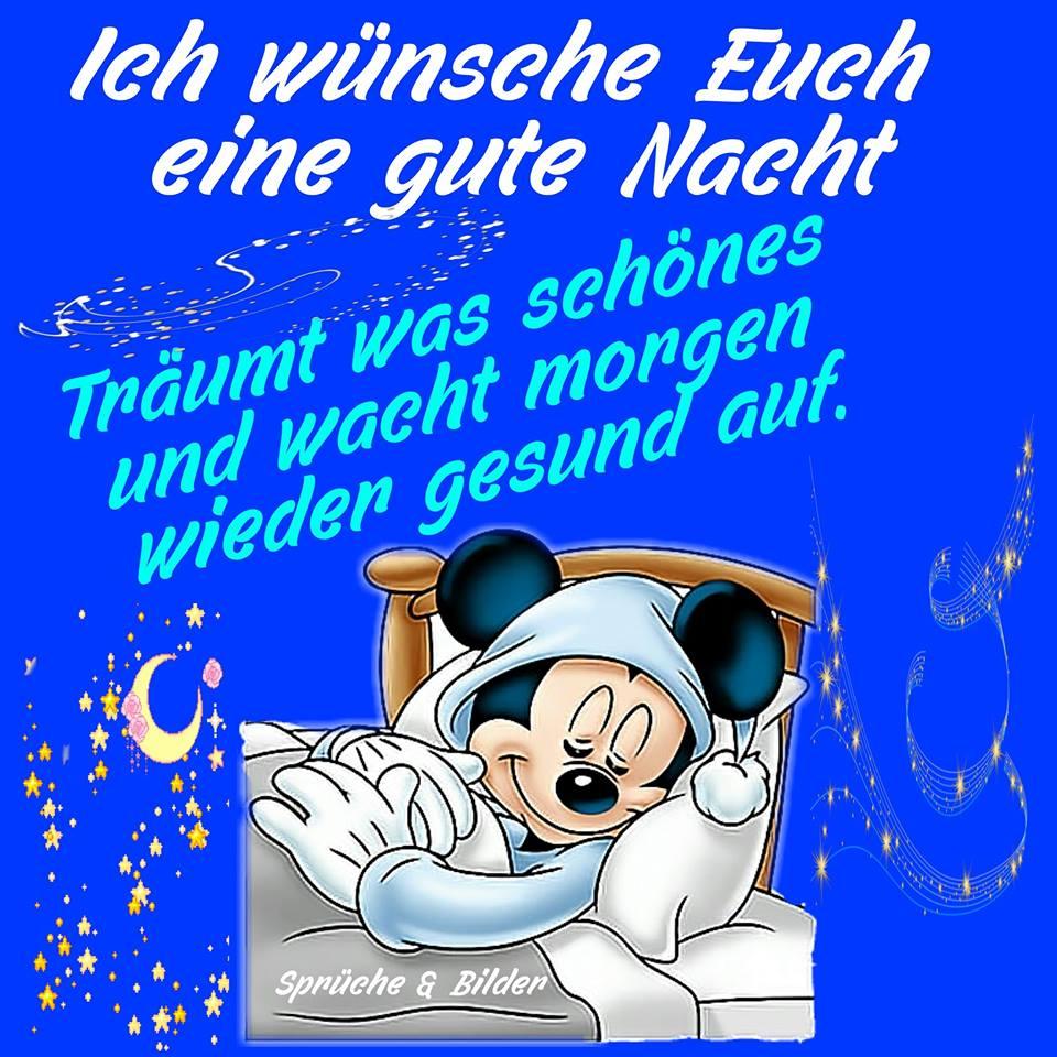 Ich wünsche Euch eine gute Nacht...