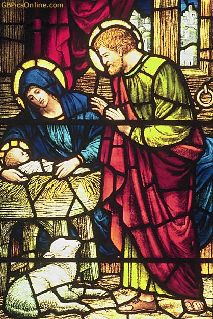 Jesus erblickt das Licht der Welt