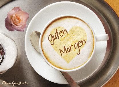 Guten Morgen Kaffee Bilder Mit Herz