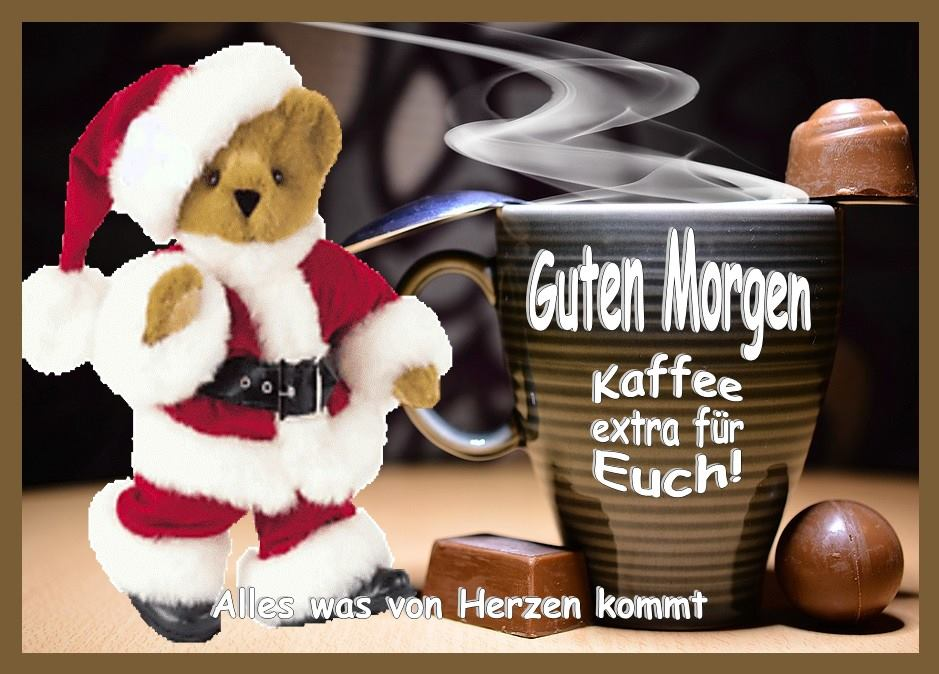 Guten Morgen, Kaffee extra...