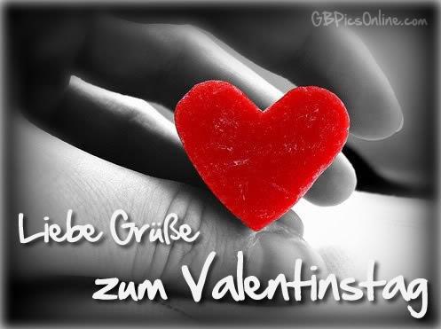 Liebe Grüße Zum Valentinstag Bild 18206 Gbpicsonline