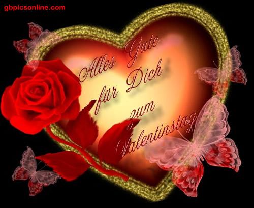 Alles Gute für Dich zum Valentinstag