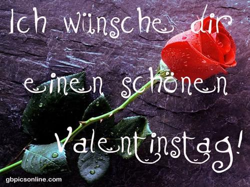 Ich Wünsche Dir Einen Schönen Valentinstag Bild 18226 Gbpicsonline