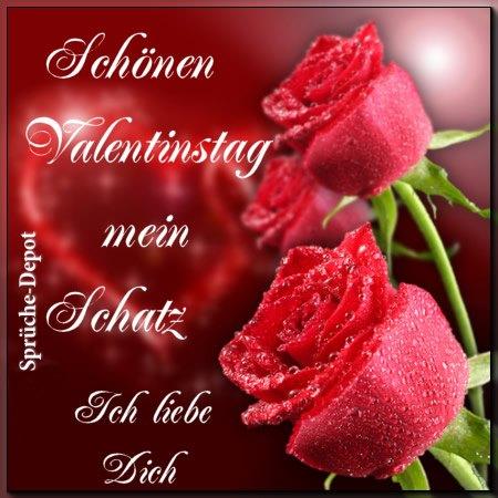 Schönen Valentinstag mein...