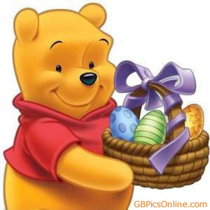 Pu der Bär mit Ostern bild 1
