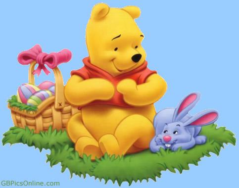 Pu der Bär mit Ostern bild 2