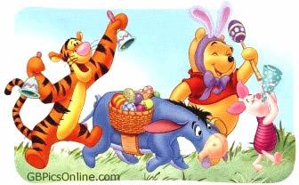 Pu der Bär mit Ostern bild 4