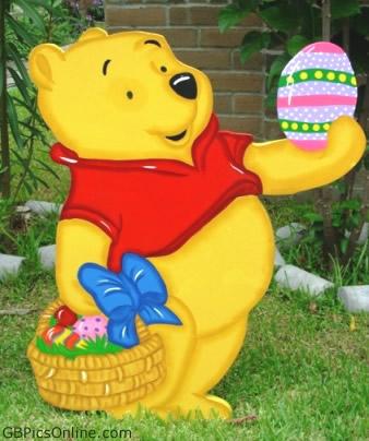 Pu der Bär mit Ostern bild 8