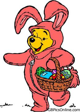 Pu der Bär mit Ostern bild 10