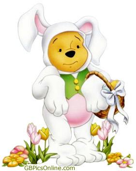 Pu der Bär mit Ostern bild 14