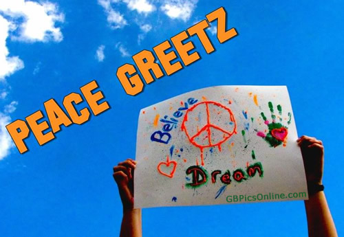 Peace Greetz