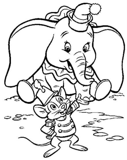 Dumbo und Timothy in...