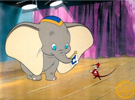 Timothy und Dumbo proben eine...