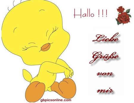 Hallo Bilder - Hallo GB Pics (Seite 8) - GBPicsOnline Mobile Happy Birthday Wishes