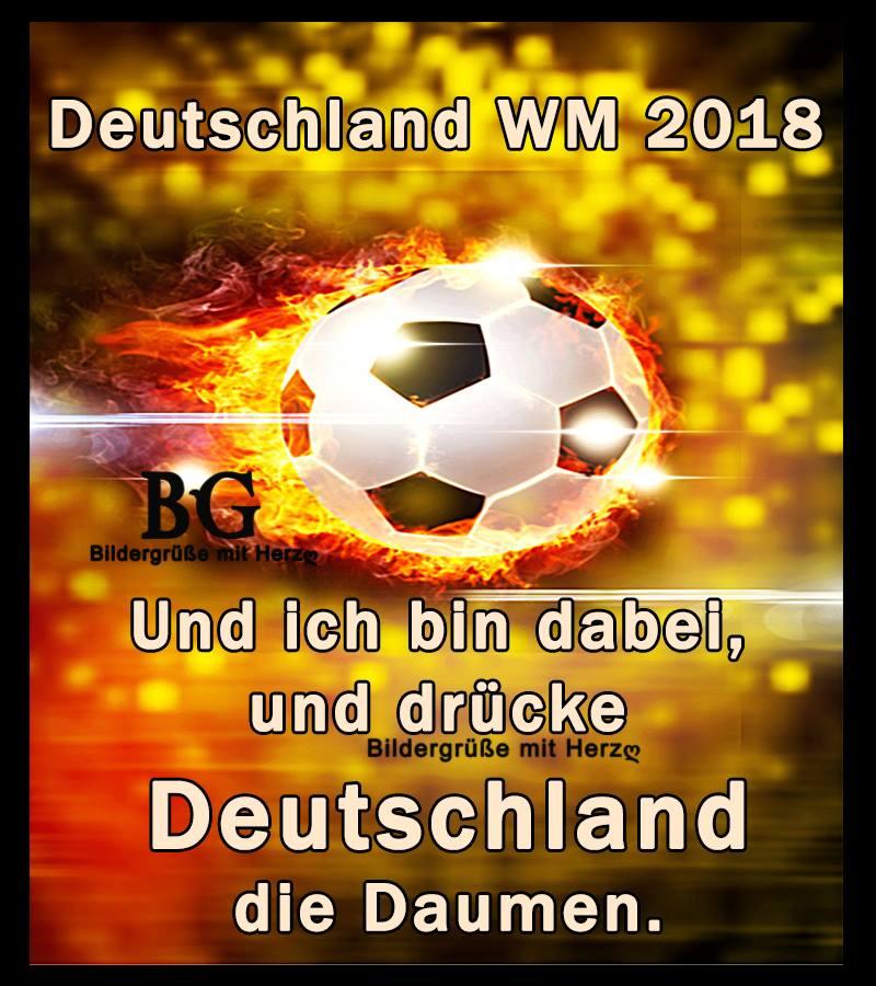 Deutschland WM 2018 und ich bin dabei...