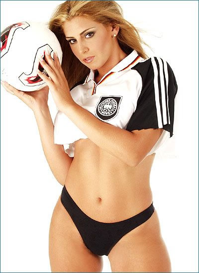 Sexy Fußball Girls 2