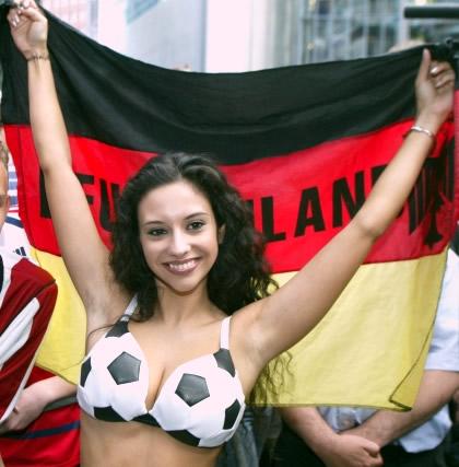 Sexy Fußball Girls 4