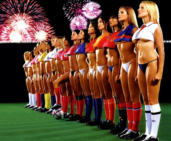Sexy Fußball Girls 6