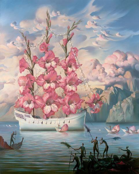 Das Blütenschiff
