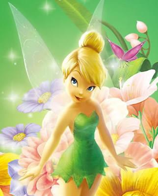 Das Blumenmeer und Tinkerbell