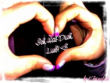 Ich hab Dich lieb! <3