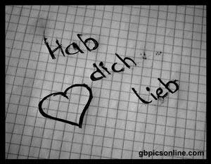 Hab dich lieb.