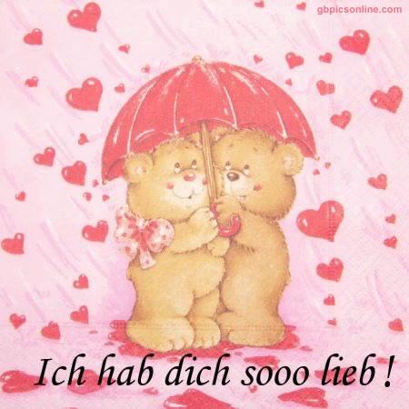 Ich hab dich sooo lieb!