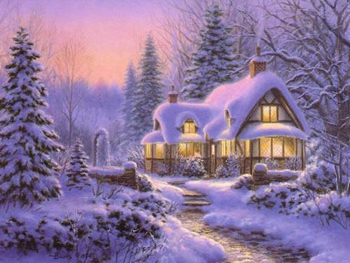 Weihnachtslandschaft bild 10