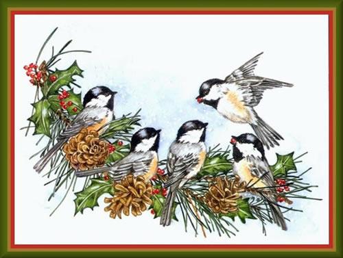 Weihnachtslandschaft bild 1
