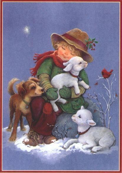 Weihnachtslandschaft bild 2