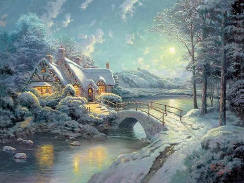 Weihnachtslandschaft bild 3