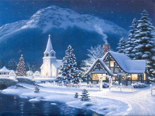 Weihnachtslandschaft bilder weihnachtslandschaft gb pics - Nature ke wallpaper ...