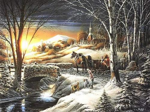 Weihnachtslandschaft bild 9