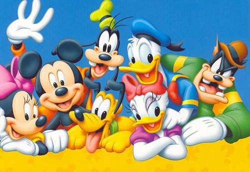 Ein Disney-Erinnerungsfoto