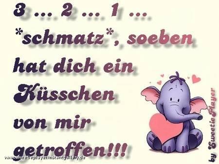 3... 2... 1.. *Schmatz*...