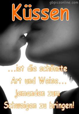 Küssen ... ist die...