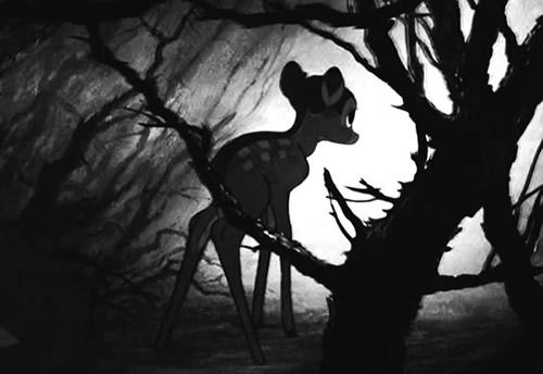 Bambi in einem düsteren...