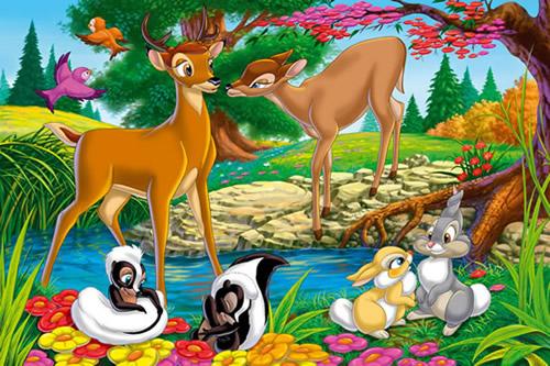 Bambi und die junge Liebe