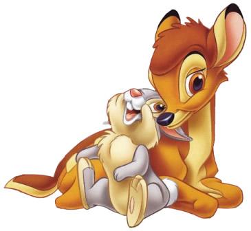 Bambi und sein bester Freund Klopfer
