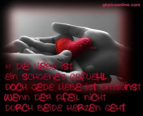 Die Liebe ist ein schönes Gefühl, doch...