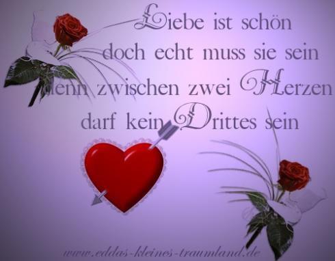 Liebe ist schön, doch echt muss sie...