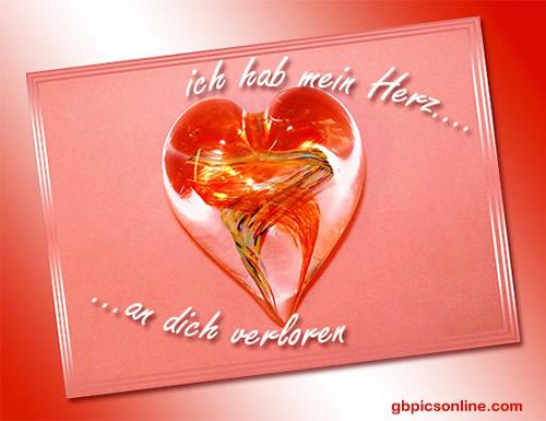 Ich hab mein Herz an dich...